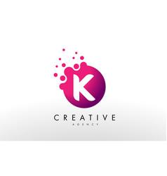 Letter k logo k letter design vector