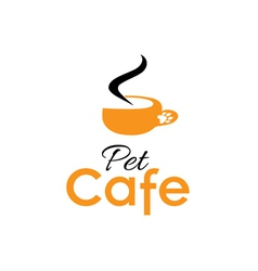 Pet cafe vector