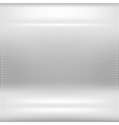 Dotted metal abstract background vector image vector image