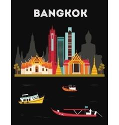 Bangkok Thailand vector image