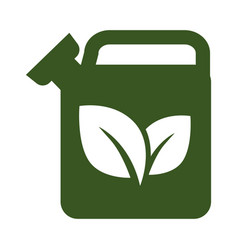 ecology and environment eco fuel isolated icon vector image