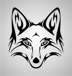 Fox Tattoo vector image