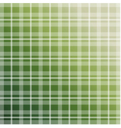 Olive green plaid pattern vector