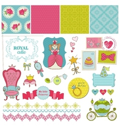 Princess Girl Set vector