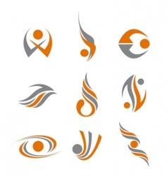 Set abstract symbols vector