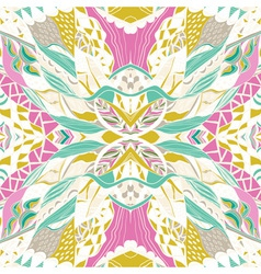 Traditional ornamental paisley bandanna Hand drawn vector image