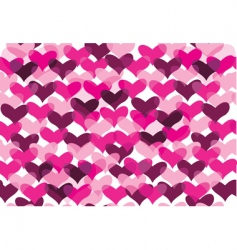 Valentine's pattern vector image vector image