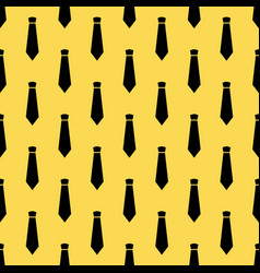 seamless pattern with neckties vector image vector image