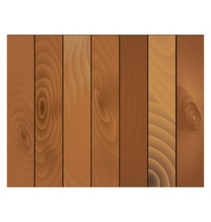 Wooden texture panels vector image