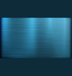 blue metal abstract technology background vector image