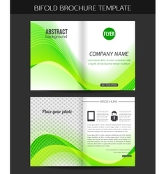 Corporate business stationery template Abstract vector image
