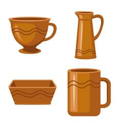 Design kitchen and tableware icon set vector