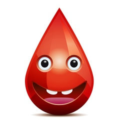 Drop of blood vector
