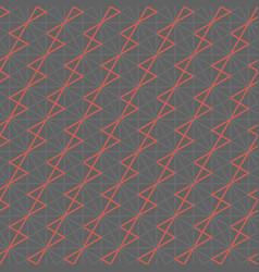 modern geometric line grid seamless pattern vector image