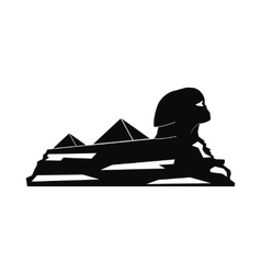 Sphinx icon simple style vector