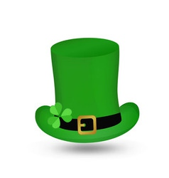 Hat St Patrick s Day vector image