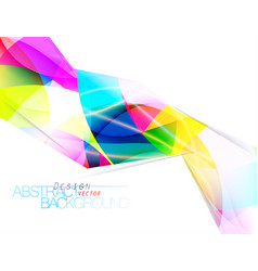 Abstract colors angle shape scene vector