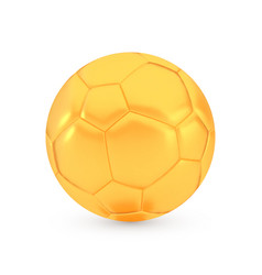 golden football award concept shiny realistic vector image