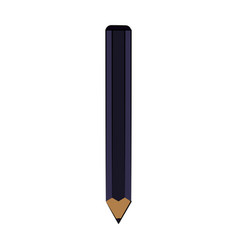 pencil isolated icon image vector image