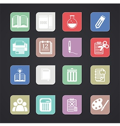 tools learning icon vector image