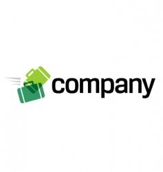 travel agency logo vector image vector image