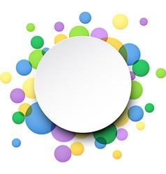 Colorful celebration background vector image