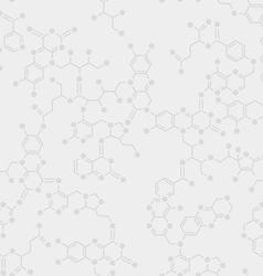 Seamless Molecule Background vector image