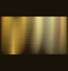 gold or bronze metal abstract technology vector image vector image