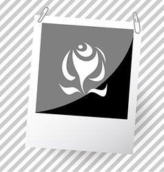 abstract rose vector image