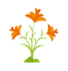 Freesia flower spring natural vector