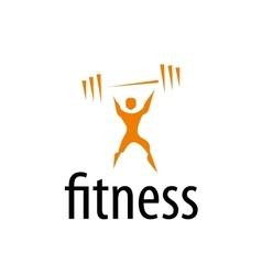 Logo fitness vector