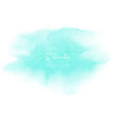 Mint watercolor texture background vector