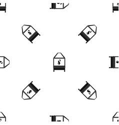 blacksmith pattern seamless black vector image vector image