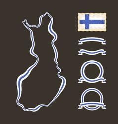 Colors finland vector