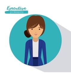 Executive woman design vector