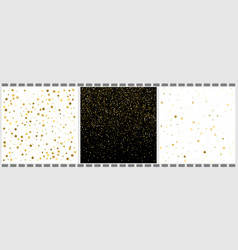 falling stars and dots abstract backgrounds 3 in vector image
