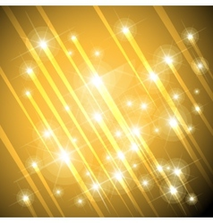 gold stars background vector image