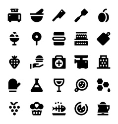 Hotel Services Icons 11 vector