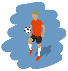 Kicking the ball vector