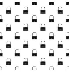 little bag pattern vector image