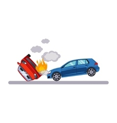 Car and Transportation Situation vector image vector image