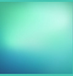 Abstract teal background blurred blue and green vector