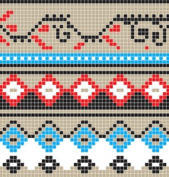 Freestyle country pattern vector
