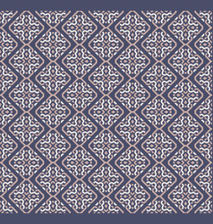 Seamless pattern decorative symmetries ornament vector