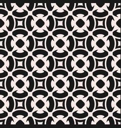 seamless pattern monochrome mosaic texture vector image