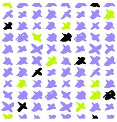 cross trendy seamless pattern vector image vector image