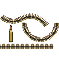 Bullet Belt vector image