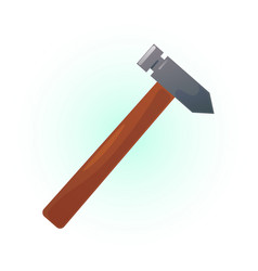 colored hammer vector image
