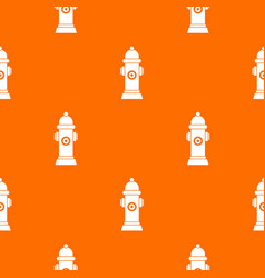 Hydrant pattern seamless vector