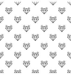 mine diamond pattern seamless vector image